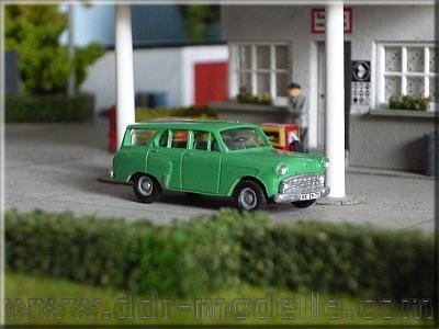 1968 Moskwitsch-434E Lieferwagen 1:87 HO DDR UdSSR